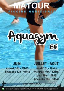 Aquagym @ Piscine de Matour
