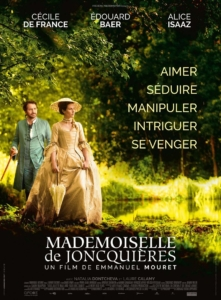 Cinéma : Mademoiselle de JONCQUIERES @ Cinéma de Matour
