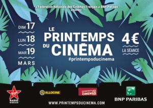 Le Printemps du Cinéma 2019 @ Cinéma de Matour