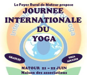 Journée internationale du yoga @ Maison des Associations Matour