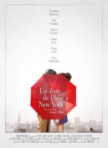 Cinéma : Un jour de pluie à New York @ Cinéma de Matour