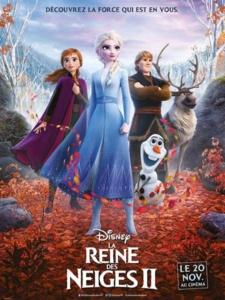 Cinéma : La Reine des neiges 2 @ Cinéma de Matour