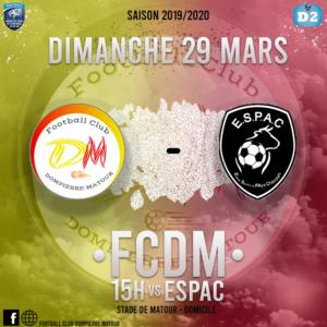 Match annulé @ Stade de Matour