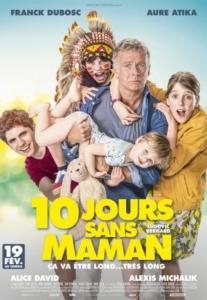 Cinéma : 10 jours sans maman @ Cinéma de Matour