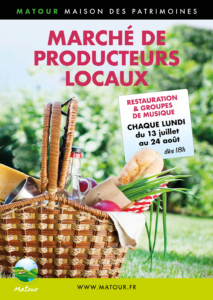 Marché de producteurs locaux et concert @ Parc Maison des Patrimoines