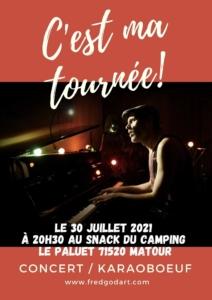 Concert : C'est ma tournée @ Camping de Matour